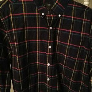 J.crew oxford men button down dress shirt